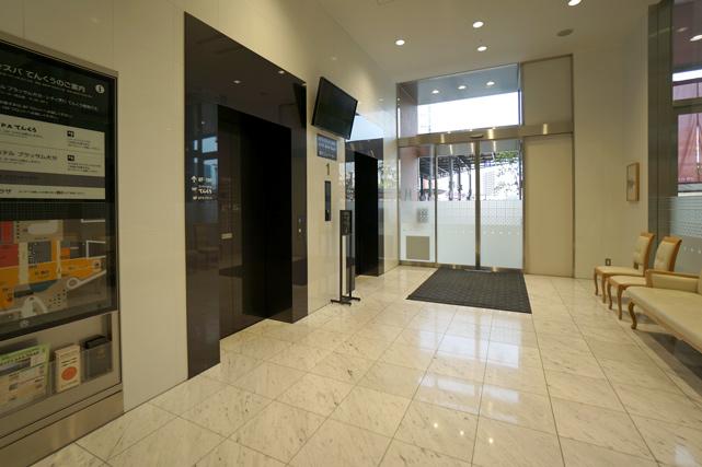 JR九州ホテル ブラッサム大分 _エレベーターホール