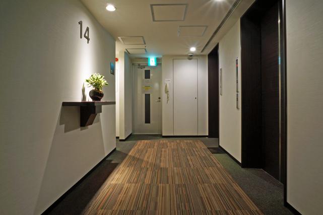 エスペリアホテル_エレベーターホール