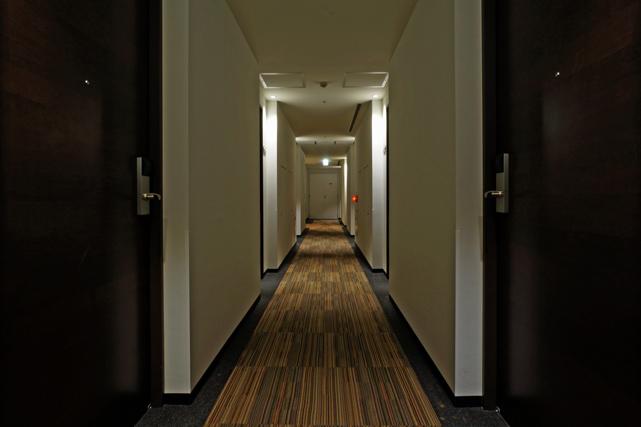 エスペリアホテル_廊下