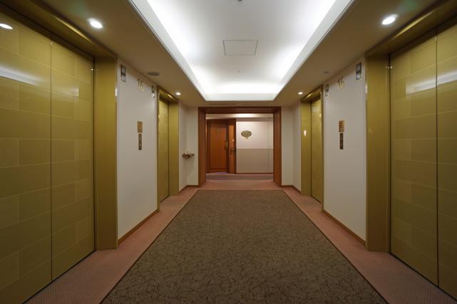 ANAクランプラザ富山_エレベーターホール