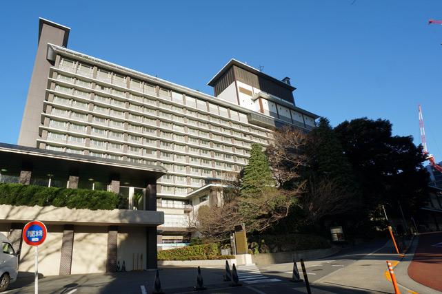 ホテルオークラ東京_外観