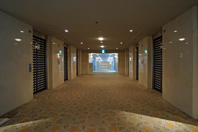 グランドプリンス新高輪_エレベーターホール