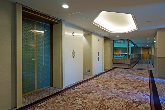 京都ブライトンホテル_エレベーターホール