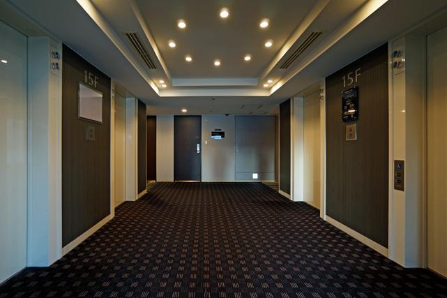 新宿プリンス_エレベーターホール