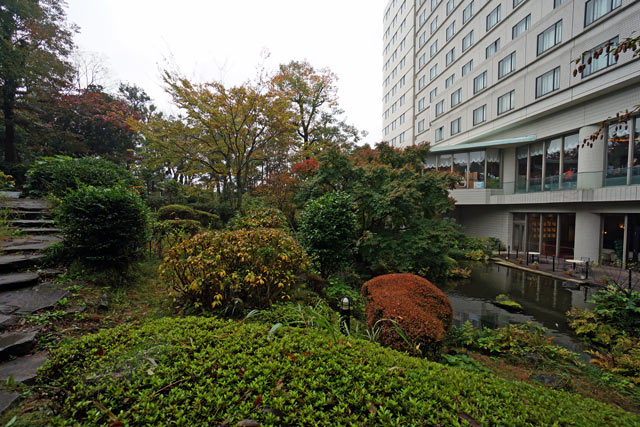 マイステイズプレミア成田_庭園