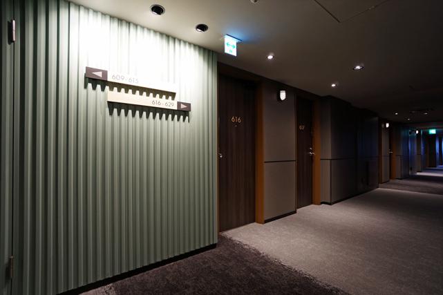 ザノット東京新宿_廊下