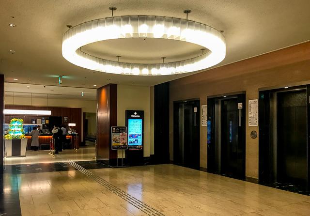 グランヴィア大阪_エレベーターホール