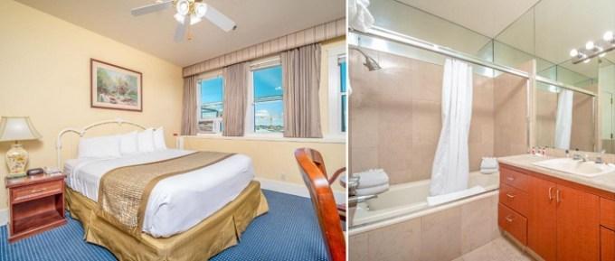 Hot tub suite in Ramada by Wyndham San Diego Gaslamp Convention Center hotel