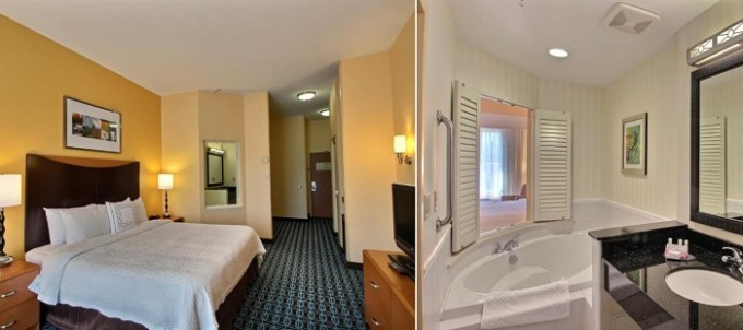 King room with Whirlpool in Fairfield Inn & Suites by Marriott Milwaukee Airport, Wisconsin