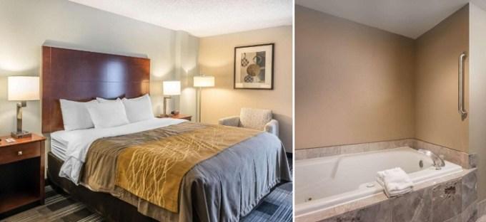 King room with a hot tub in Comfort Inn SW Omaha I-80, Nebraska