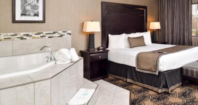 Room with a private Whirlpool inside in Best Western Plus Kelly Inn, Omaha, Nebraska