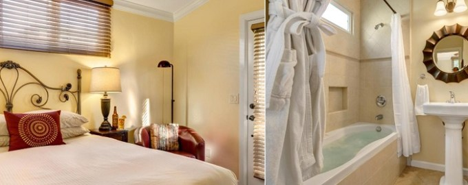 Suite with a whirlpool tub in Hillcrest House Bed & Breakfast, near San Diego