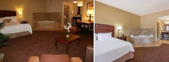 Hot Tub suite in Hampton Inn & Suites Oklahoma City - South hotel