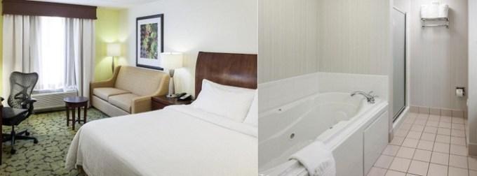 Room with a Hot Tub in Hilton Garden Inn Dallas-Duncanville, TX