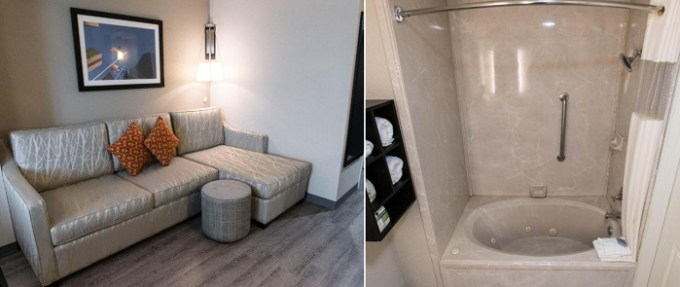Suite with a hot tub in Wingate by Wyndham Dallas Love Field Hotel, TX