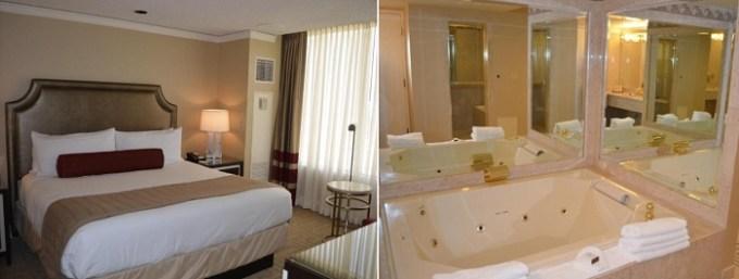 Hot Tub suite in Caesars Atlantic City Hotel & Casino, NJ