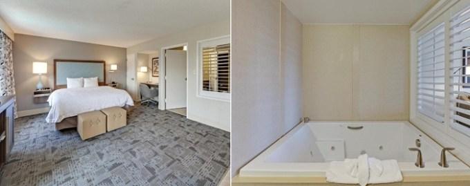 Hot Tub suite in Hampton Inn Myrtle-Beach Broadway at the Beach Hotel, SC