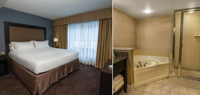 Suite with a hot tub in Holiday Inn Express & Suites Buffalo Airport Hotel, NY