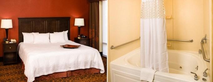 Whirlpool Room in Hampton Inn Columbia, MD Hotel, near Baltimore