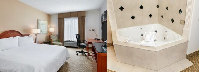 Hot-tub-suite-in-Hilton-Garden-Inn-Charlotte-Pineville-NC