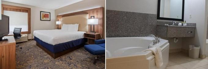 Whirlpool suite in Best Western Plus Kansas City Airport - KCI East, MO