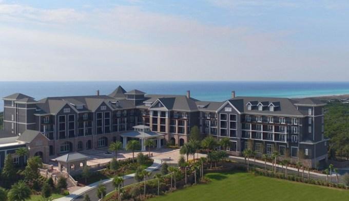 The beachfront Henderson Beach Resort, Destin, FL
