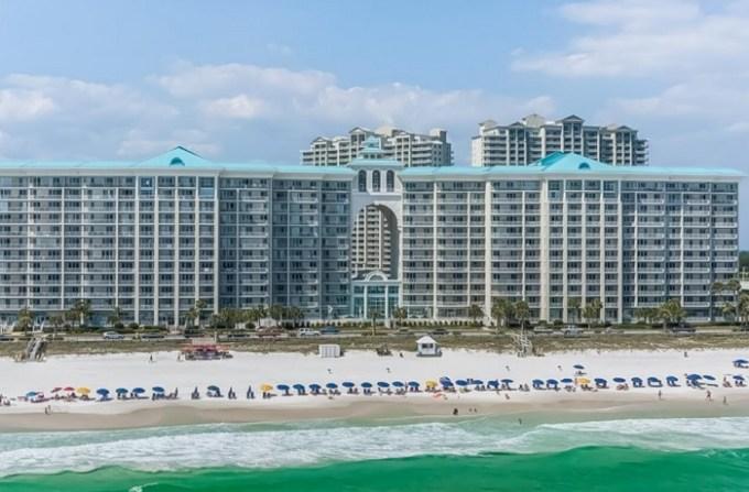 The beachfront Majestic Sun hotel, Destin, FL