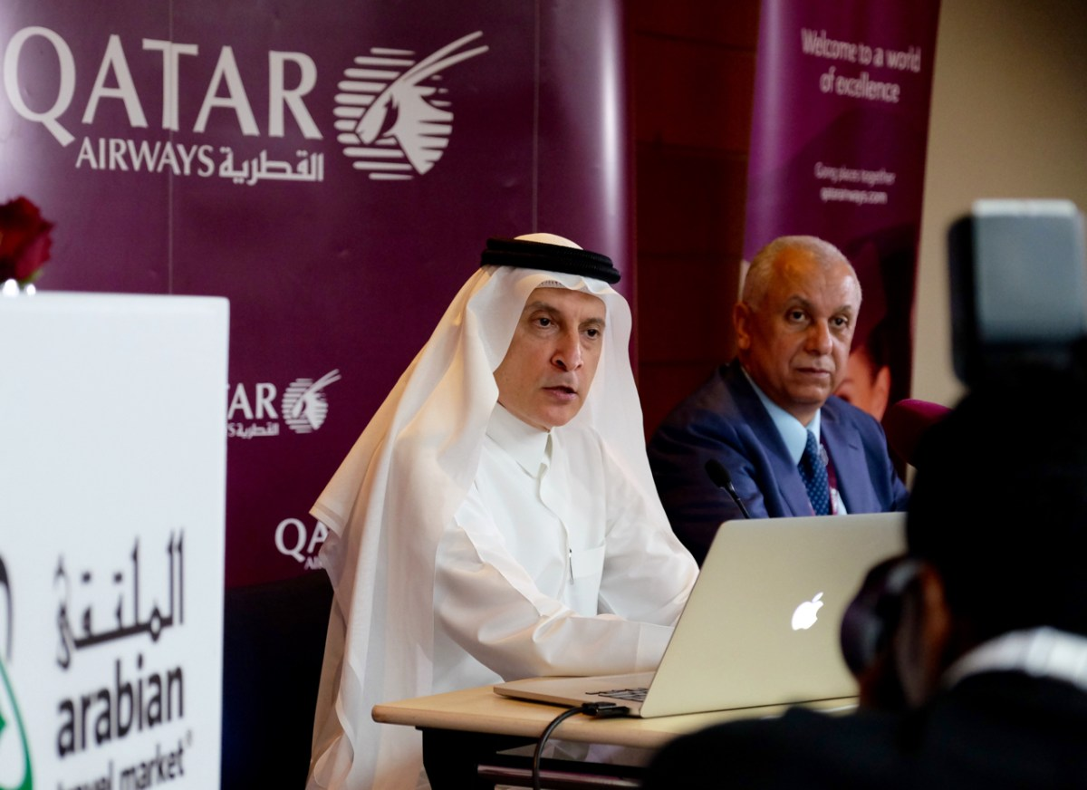 Qatar Airways Group Chief Executive HE Mr Akbar Al Baker