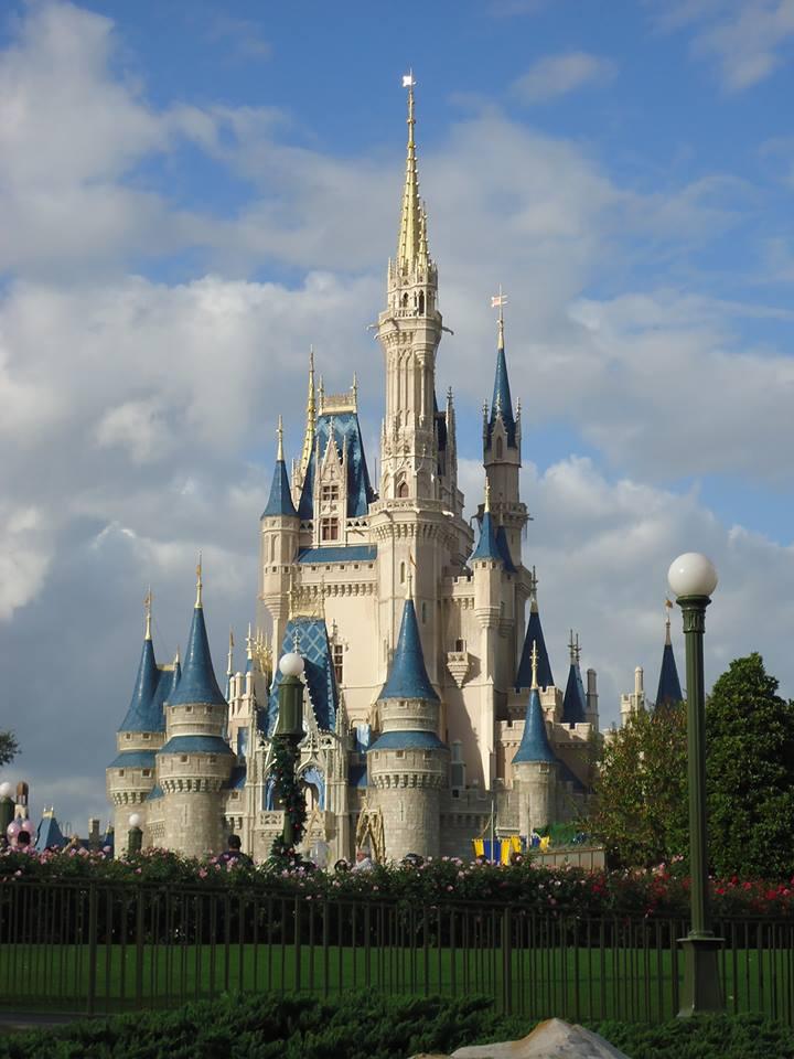 Imagem do castelo da Disney