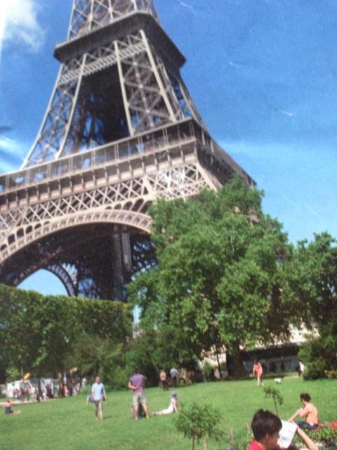 imagem da torre eiffel