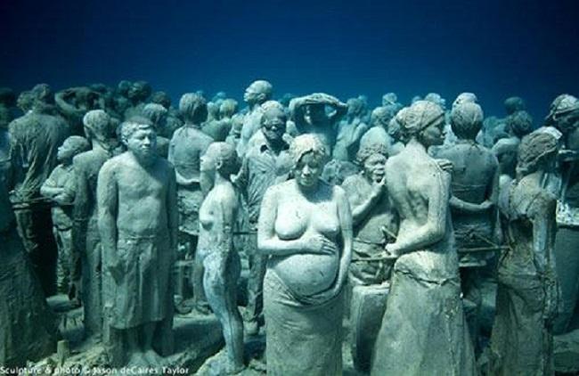 Cancun Mexico Museu Submerso: como conhecer este lugar maravilhoso.