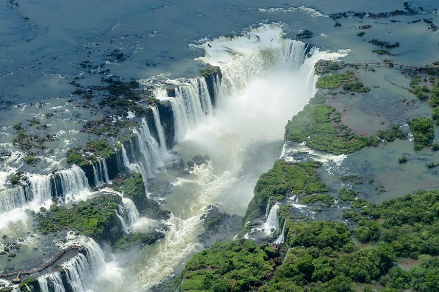 Foz do Iguaçu. Patrimônio Natural da Humanidade.