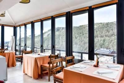 Restaurante del Hotel El Corzo