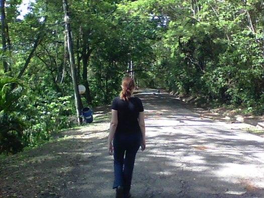 caminando por el merendon 3 San Pedro Sula