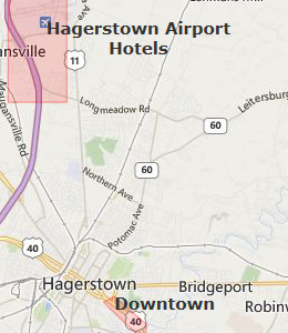 Hagerstown Maryland Map