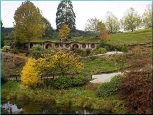 Мотель Хоббитов, Вудлин Парк, Отороханга, Новая Зеландия