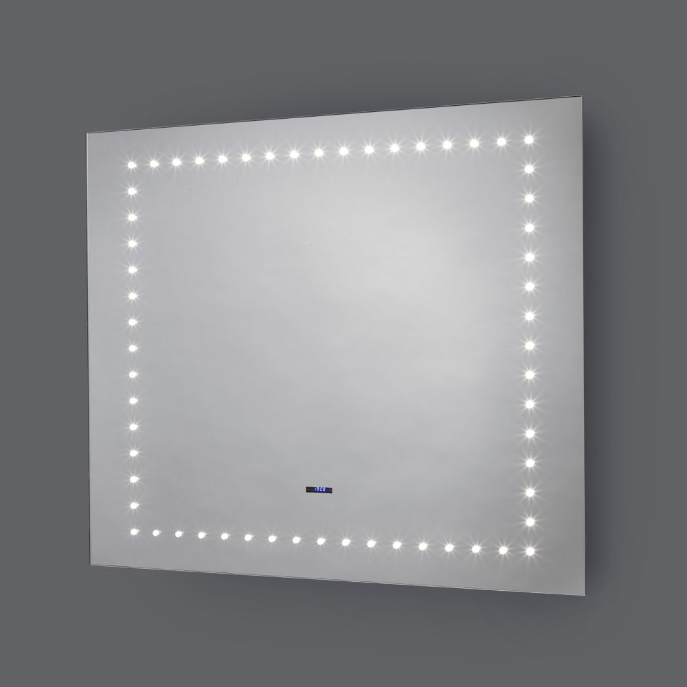 Pebble Grey\'s Paluxy and Tulare Bluetooth LED Bathroom Mirrors ...