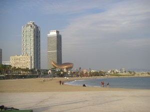 Stadtstrand Barcelona