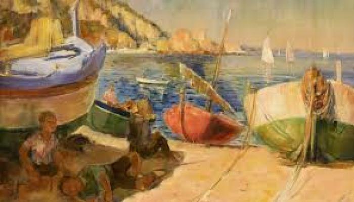 Barcas en la playa, Jaume Vilallonga