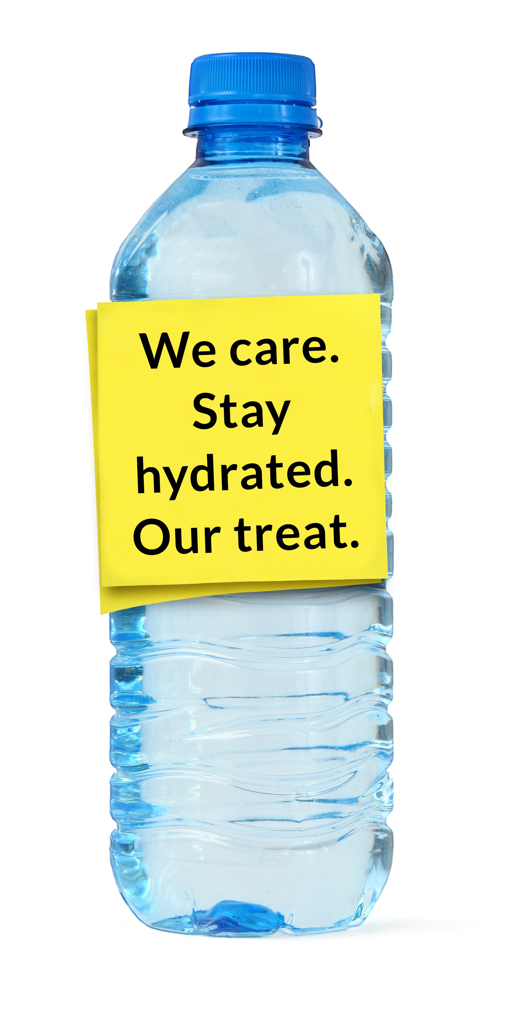 With Hotel Bottled Water Every Drop Counts