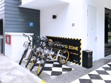 Boutique Hotel with Bicycle