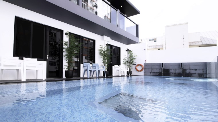 Boutique Hotel Singapore Swimming Pool