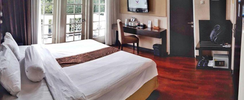 Hotel Klasik Yang Cantik Dekat Gedung Sate Staycation Di Vio Cimanuk