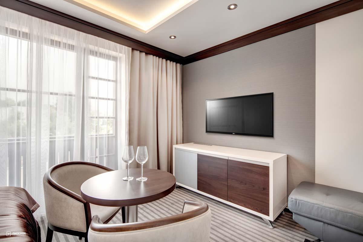 Moderny hotelovy nabytok interier izby