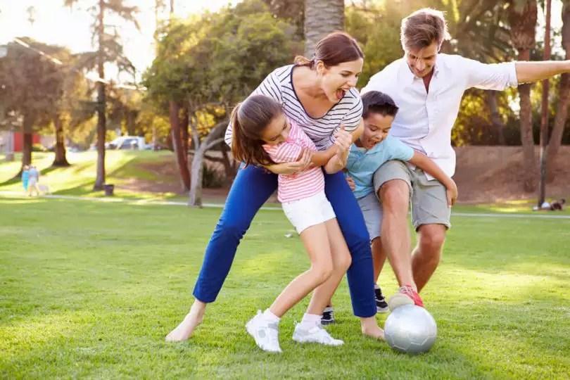 Atividades final de semana com a família
