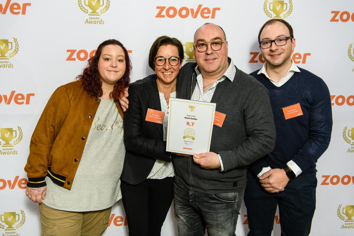 Met een 9,7 beoordeling het 2e beste hotel van Nederland