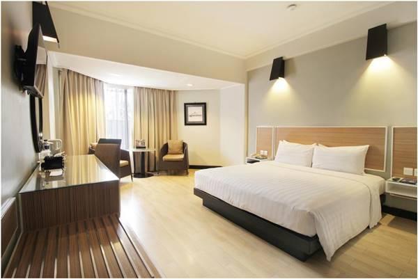 View kamar Hotel Santika Premiere Jogja tipe deluxe room