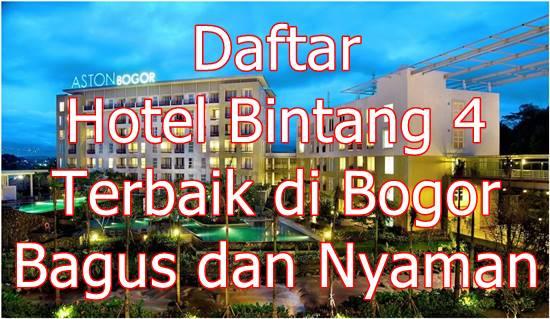 Daftar Hotel Bintang 4 di Bogor yang Murah dan Mewah