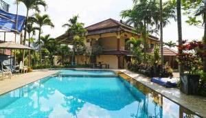 Villa Aries Biru Salah Satu Villa Murah di Bawah 1 Juta Ada Kolam Renang Pribadi