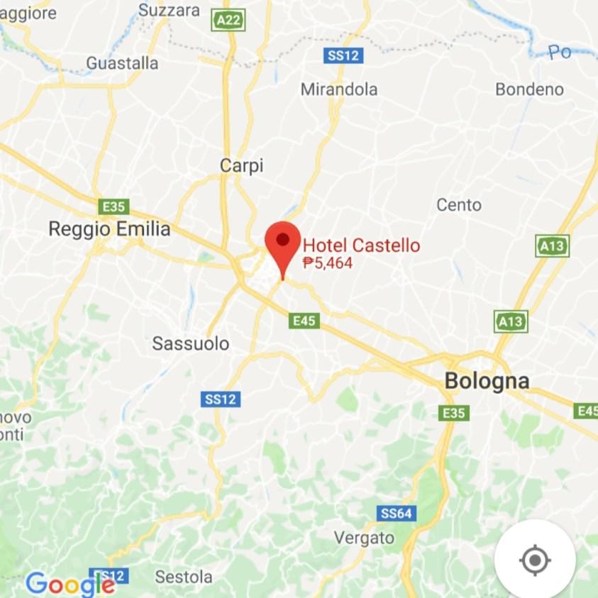 Hotels Near Trains | Italy Castle Hotels | Hotel Castello (Modena)